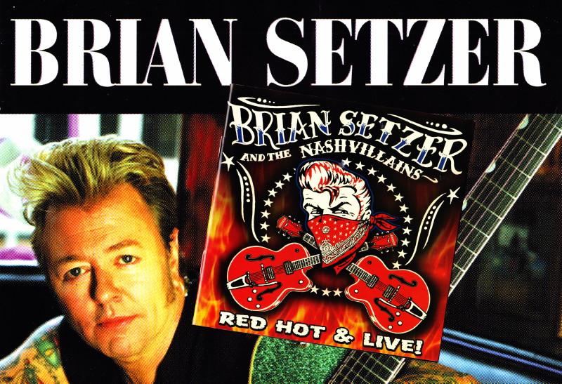 """BRIAN SETZER, album CD """"Rockabilly Riot! All Original"""" (2014) : chronique détaillée (chronicle, review)  14072711073816724012415148"""