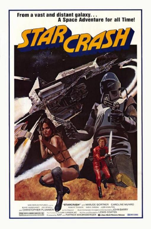 L'AFFICHE : STARCRASH dans Cinéma bis 14080301522615263612428837