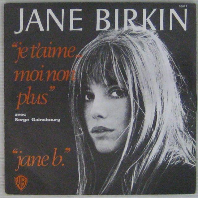 JANE BIRKIN SERGE GAINSBOURG - Je t'aime moi non plus - 7inch (SP)