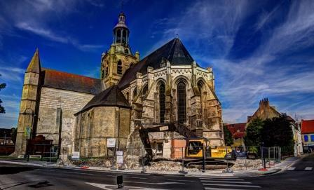 caro - Caro & de Sint-Jan-de-Doper kerk van Bourbourg 14080902541014196112441210
