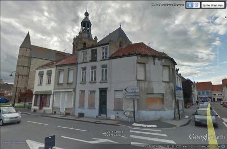 caro - Caro & de Sint-Jan-de-Doper kerk van Bourbourg 14081010442714196112442844