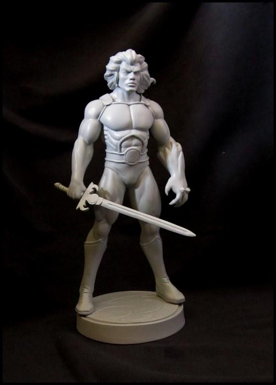 Thundercats Lion-o statue 14081907073016083612464109