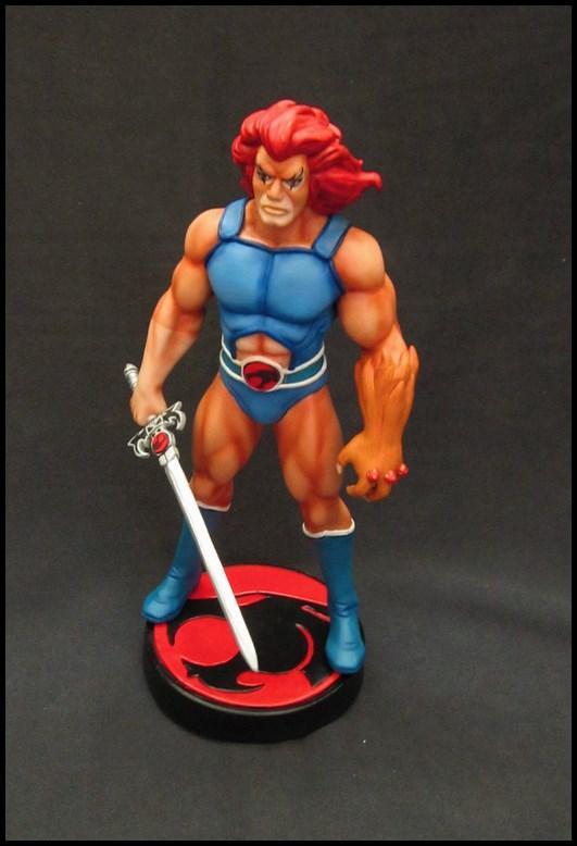 Thundercats Lion-o statue 14082405261616083612474047