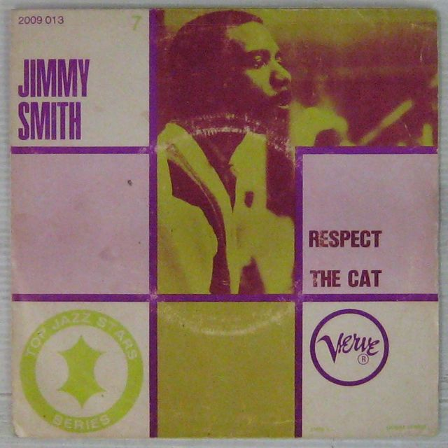SMITH JIMMY - Respect/The cat - 7inch (SP)
