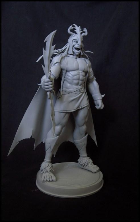 Thundercats : Mumm-ra statue 14083007571116083612488305
