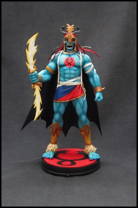 Thundercats : Mumm-ra statue 14090503461516083612501925