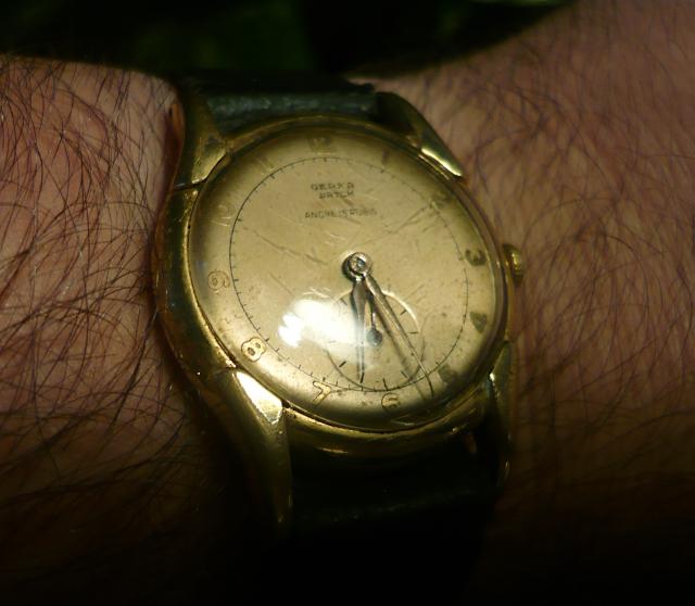 montre vintage suisse Gerka 14090807312717735412509281