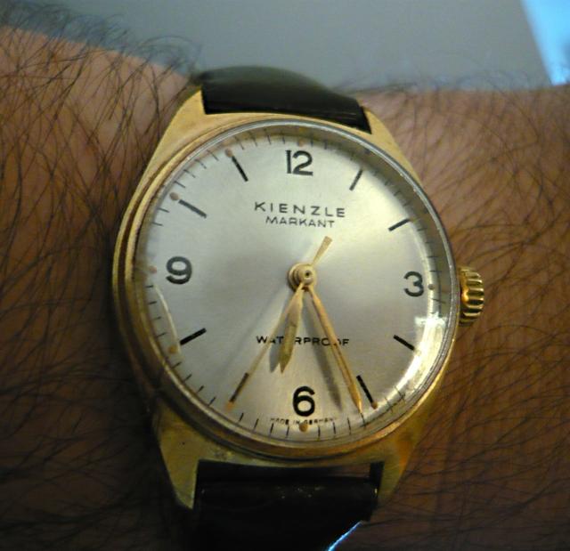 montre vintage allemande Kienzle 14090807314317735412509284