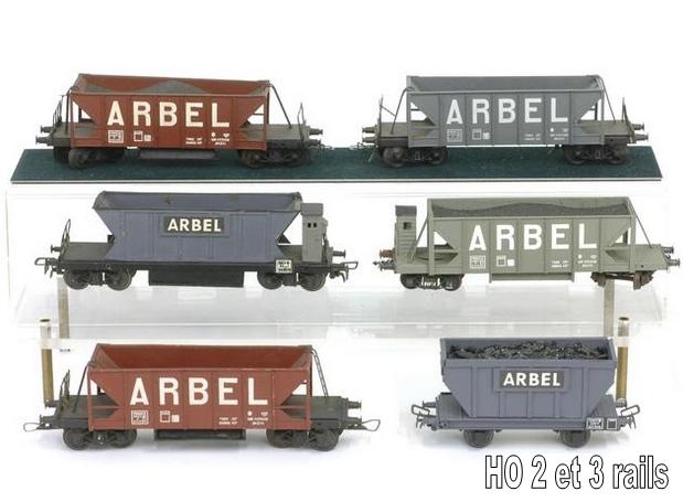 Wagons trémie à bogies maquette 1409081125048789712509907