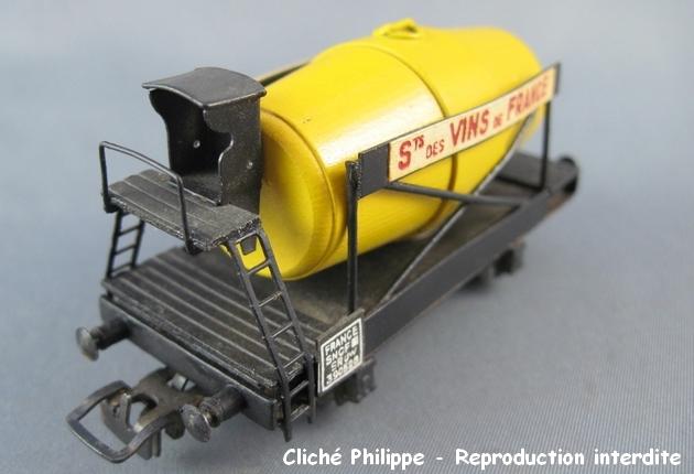Wagons à 2 ess maquette citernes, foudres 1409081126398789712509926