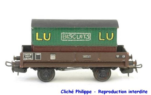 Wagons plats 2 ess maquette et semi maquette chargés par ordre alphabetique 1409081126458789712509937