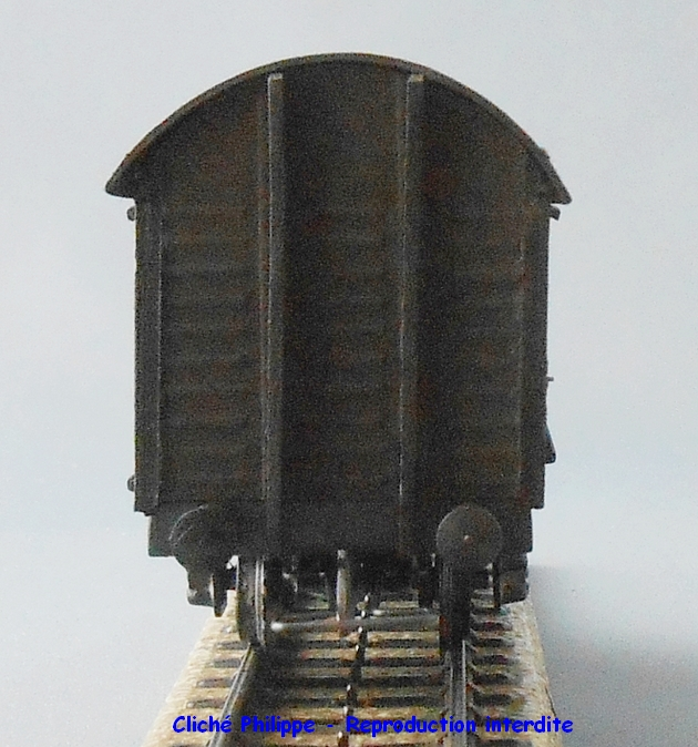 Wagons couverts 2 essieux maquette 1409081127538789712509959
