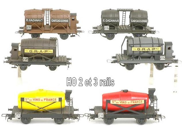 Wagons à 2 ess maquette citernes, foudres 1409081129268789712509992