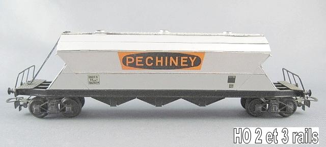 Wagons trémie à bogies maquette 1409081131138789712510032