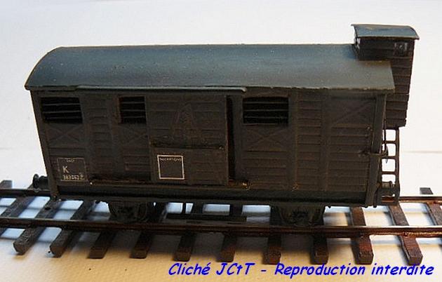 Wagons couverts 2 essieux maquette 1409081136238789712510137