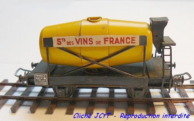 Wagons à 2 ess maquette citernes, foudres 1409081136258789712510139