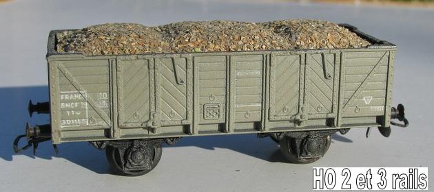 Wagons tombereau 2 essieux zamak 1409081154518789712510179