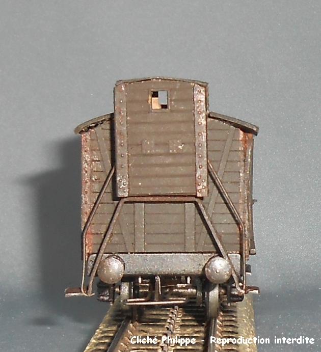 Wagons couverts 2 essieux maquette 1409100750438789712514242