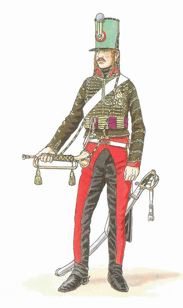 Trompette de Hussards du 7ème Régiment à Waterloo. - Page 2 1409111240123593412515294