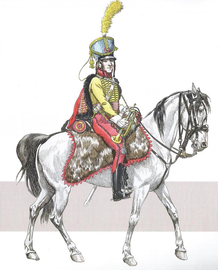 Trompettes du 9ème Hussards 1409130632133593412519618