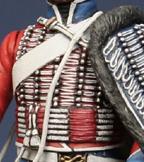 Trompette de Hussards du 7ème Régiment à Waterloo. 1409130703273593412519636