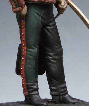 Trompette de Hussards du 7ème Régiment à Waterloo. 1409130803403593412519733
