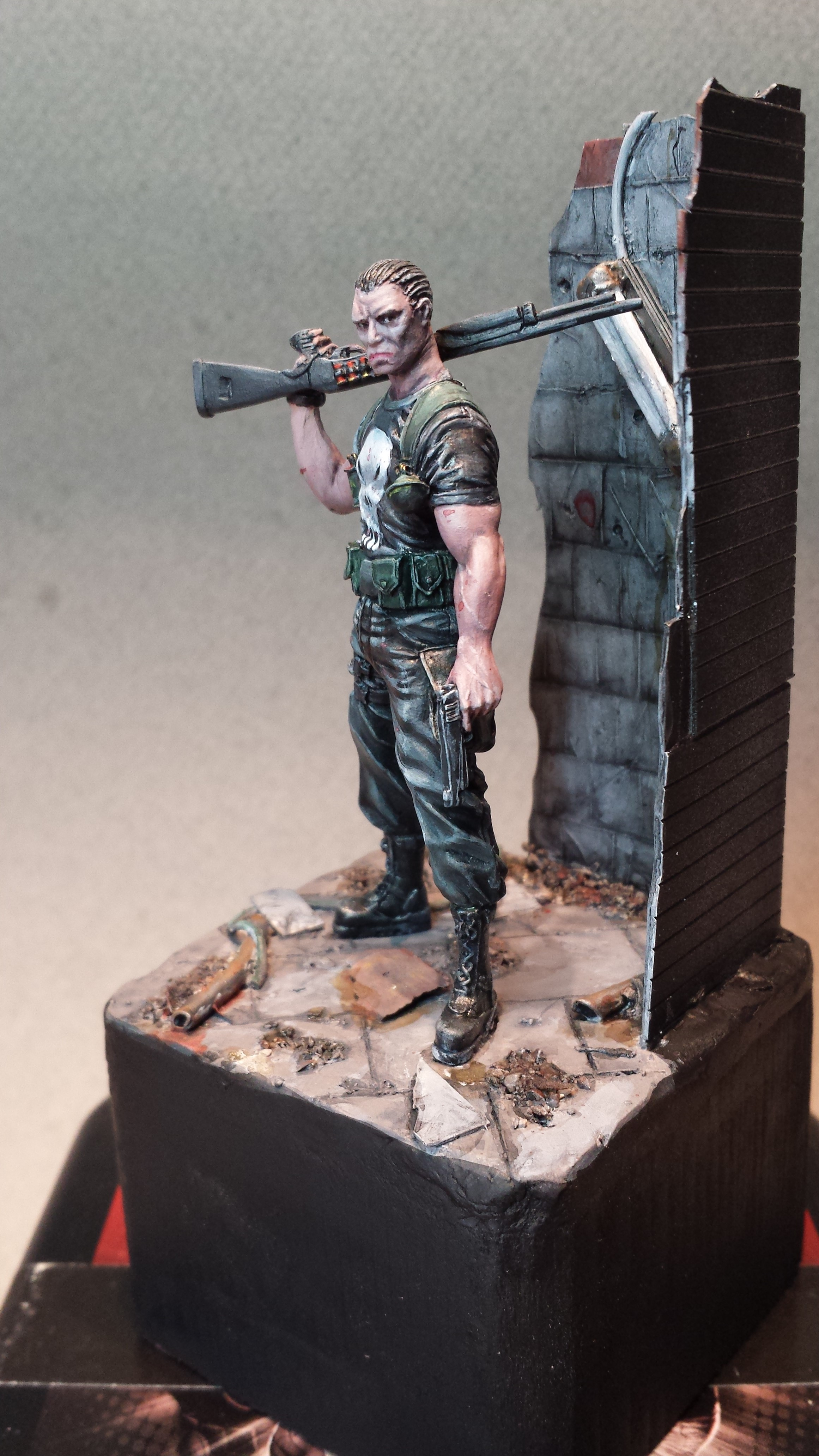 The punisher - Knight model 14091606363314336412528528