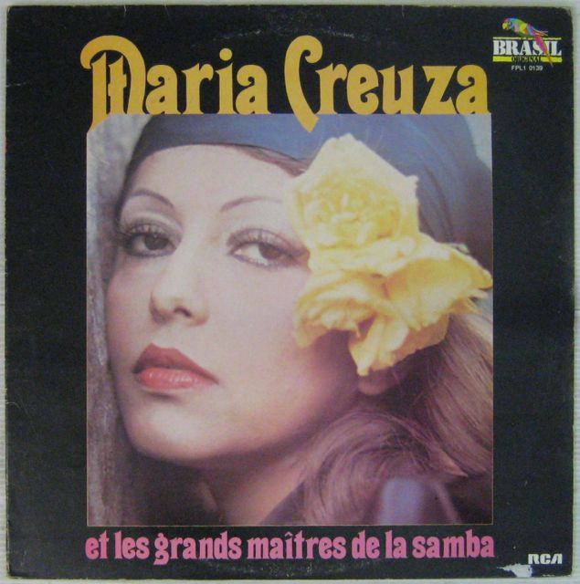 CREUZA MARIA - Les grands maîtres de la Samba - LP