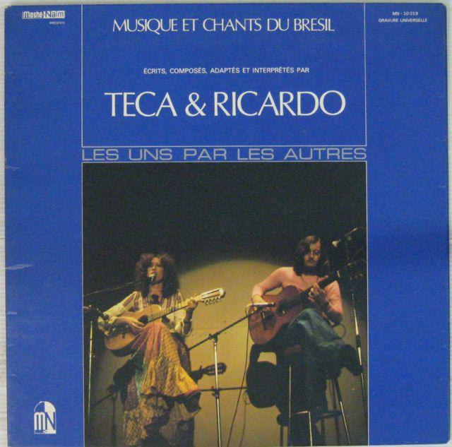 TECA ET RICARDO - Les uns par les autres - LP Gatefold