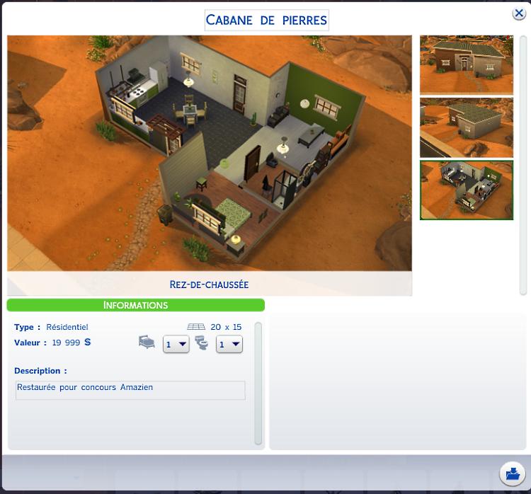 [Clos] Rénovation : La Cabane de Pierre 14091909514417404312535299