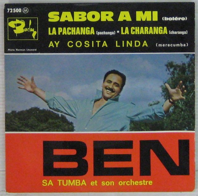 BEN ET SA TUMBA - Sabor a mi - 7inch (EP)