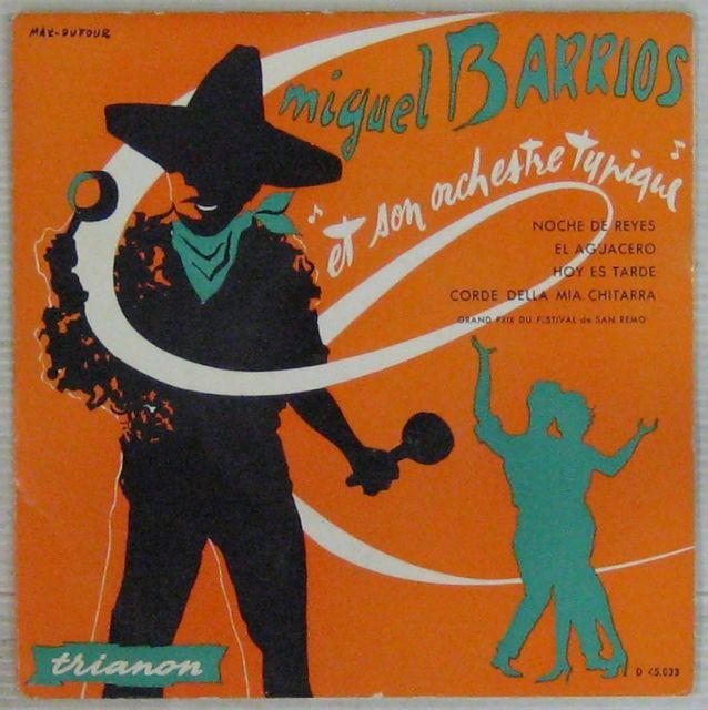 BARRIOS MIGUEL - Noche de reyes - 7inch (EP)