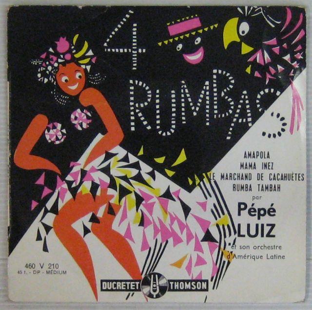 PÉPÉ LUIZ - 4 Rumbas - 7inch (EP)