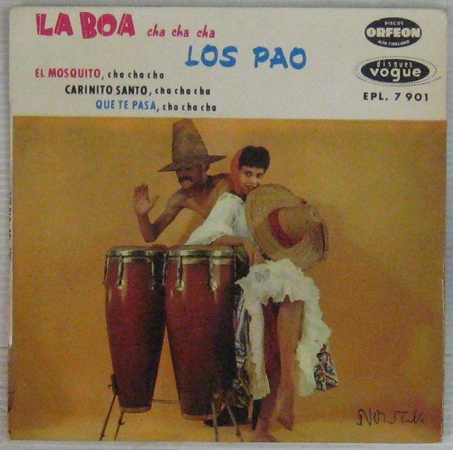 LOS PAO - La Boa - 7inch (EP)