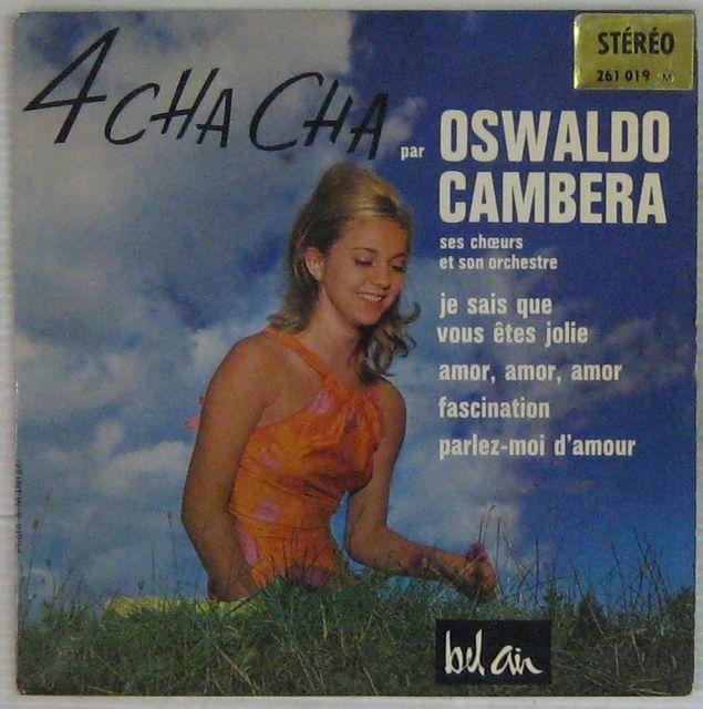 CAMBERA OSWALDO - Je sais que vous êtes jolie - 7inch (EP)
