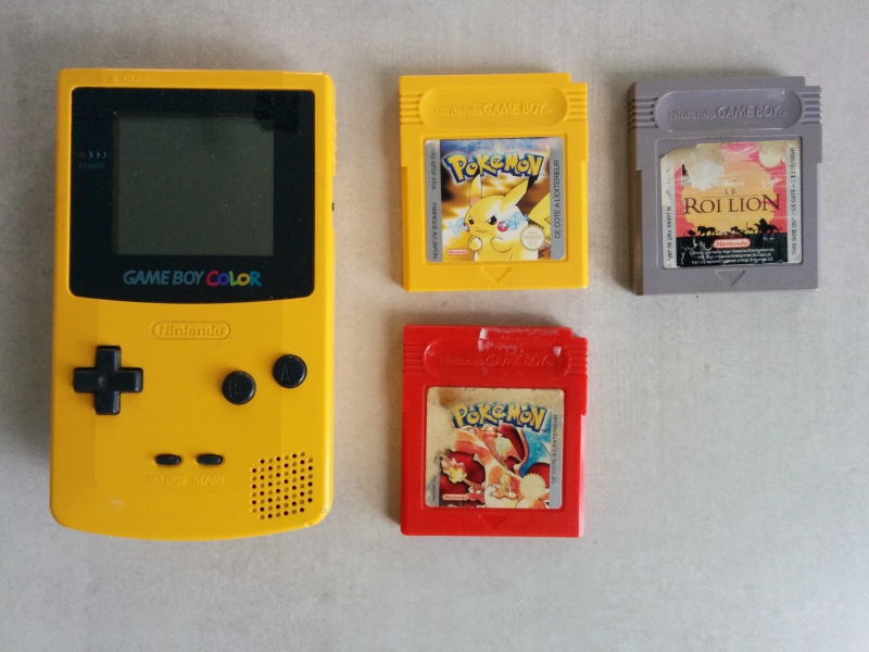 Lot Game Boy Color 1409260323203841212557061