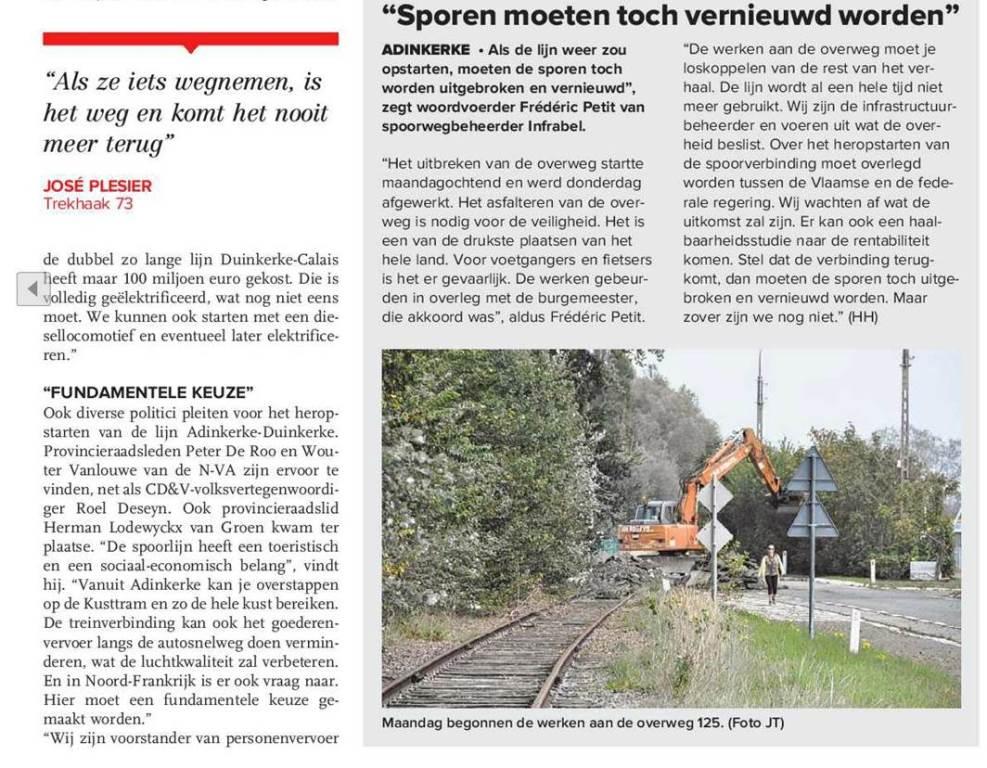 Heropening spoorlijn Duinkerke - Adinkerke ? - Pagina 10 14100303011314196112577300