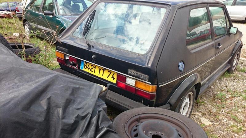 Vente de Golf MK1 GTI 14100408334318032812578787