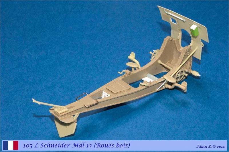 Canon 105 L Schneider Mdl 1913 roues bois ÷ BLITZ ÷ 1/35 1410080655135585012595457