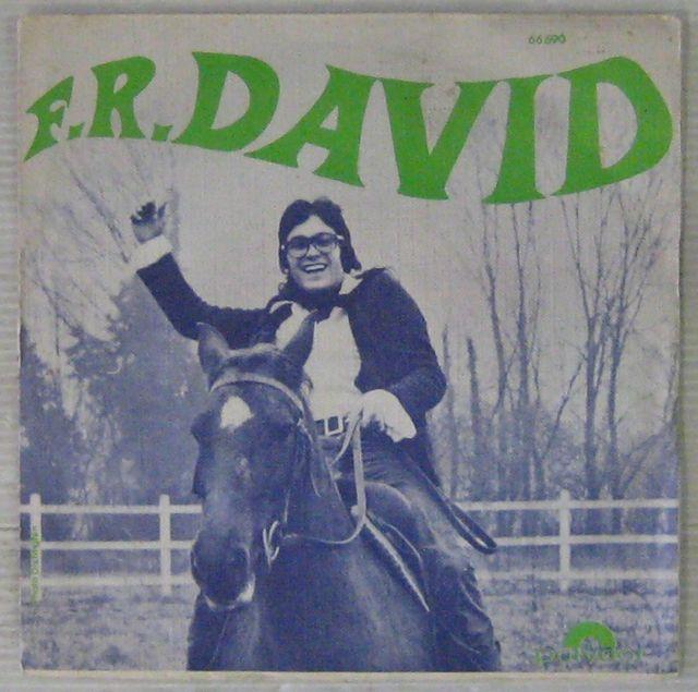 F.R. DAVID - Le bonheur est un cderf-volant/Les rubis - 7inch (SP)