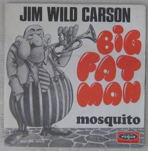JIM WILDE CARSON - Big Fat Man - 7inch (SP)
