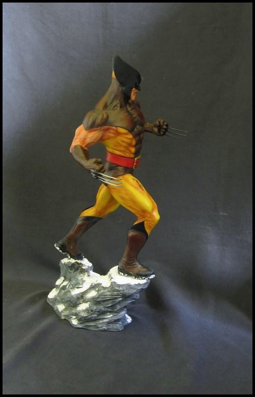Wolverine Bronze version peinte 14101104340616083612602754