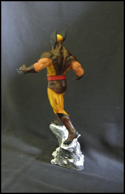 Wolverine Bronze version peinte 14101104340716083612602755