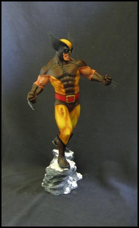 Wolverine Bronze version peinte 14101104340916083612602757