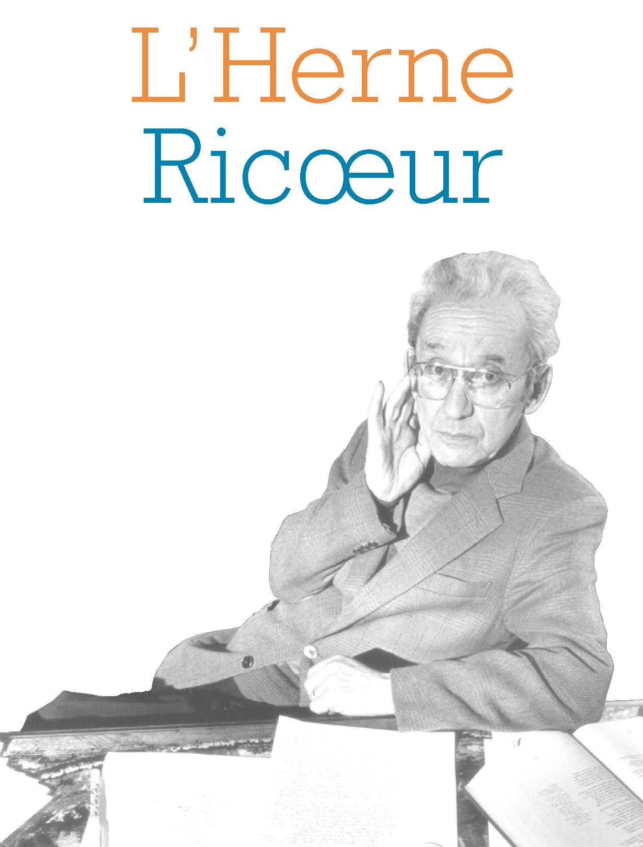 Ricoeur : Cahier de L'Herne