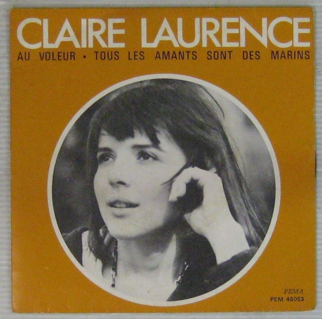 <b>LAURENCE CLAIRE</b> - Au voleur - 7inch (SP) - 14102109021911158112630255