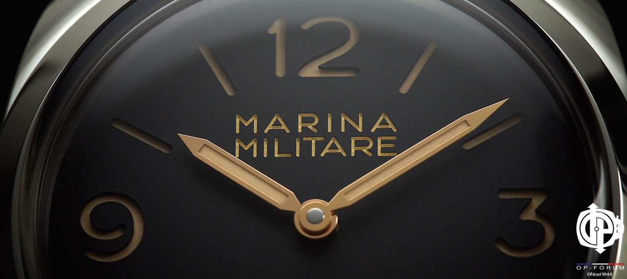 Revue OP-Forum : Radiomir 1940 MARINA MILITARE 3 DAYS - 47mm - PAM00587 SL 1000ex 14102308184618120312638046