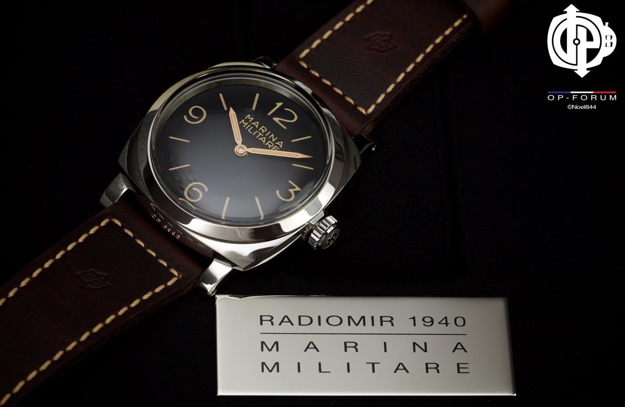 Revue OP-Forum : Radiomir 1940 MARINA MILITARE 3 DAYS - 47mm - PAM00587 SL 1000ex 14102309271818120312638221