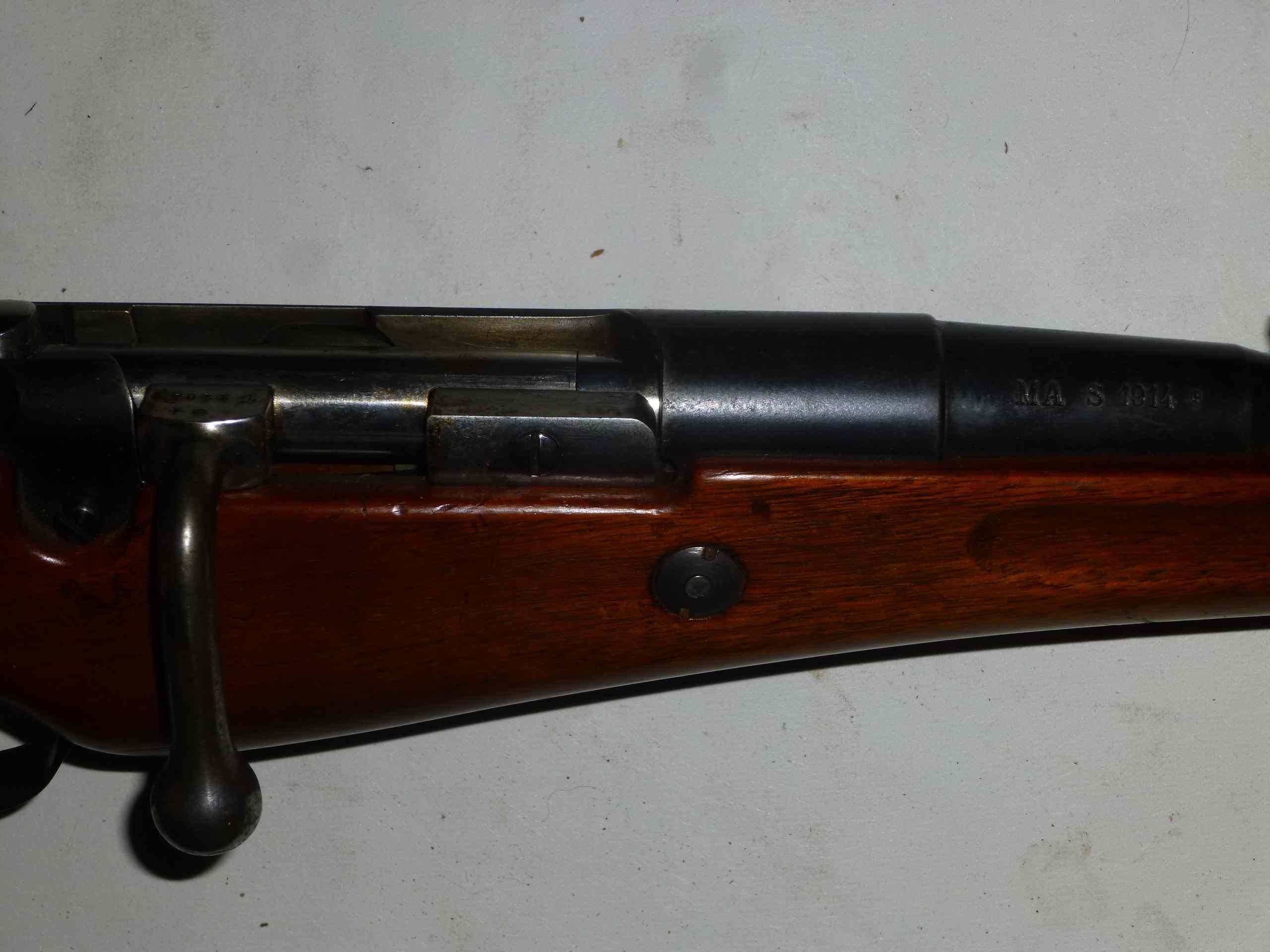 Carabine de cuirassier de St-Etienne 1914 suite 14102311052618218612635664