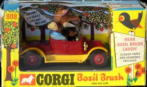 Renault 12/16 Corgi-Toys Basil Brush
